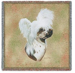 Chinese Crested Throw