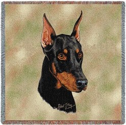 Doberman Throw