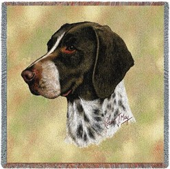 German Shorthaired Pointer Throw