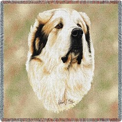 Great Pyrenees Throw