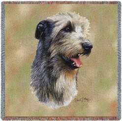 Irish Wolfhound Throw