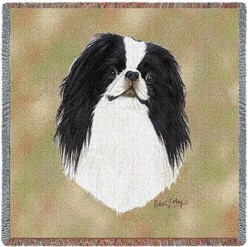 Japanese Chin Throw