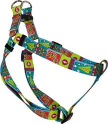 Retro Christmas Step-In Harness