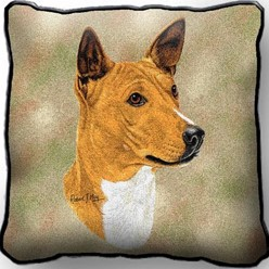 Basenji Pillow, Made in the USA