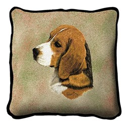Beagle Pillow, Made in the USA