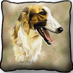 Borzoi Pillow, Made in the USA