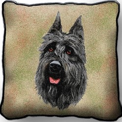 Bouvier Pillow, Made in the USA