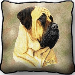 Bullmastiff Pillow, Made in the USA