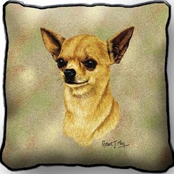 Chihuahua II Pillow, Made in the USA