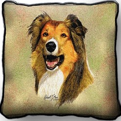 Collie Pillow, Made in the USA