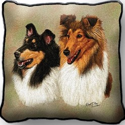 Collies Pillow, Made in the USA