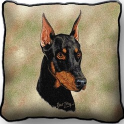 Doberman Pillow, Made in the USA