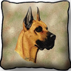 Great Dane Pillow, Made in the USA