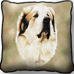 Great Pyrenees Pillow, Made in the USA