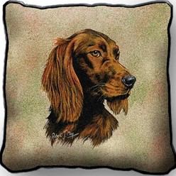 Irish Setter Pillow, Made in the USA