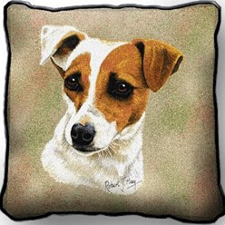 Jack Russell Pillow, Made in the USA
