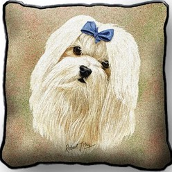 Maltese Pillow, Made in the USA