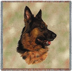 German Shepherd Throw
