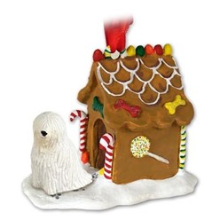 Komondor Gingerbread Christmas Ornament