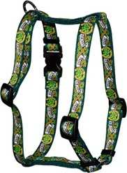 Lucky Dog Harness, an Irish Theme Dog Harness