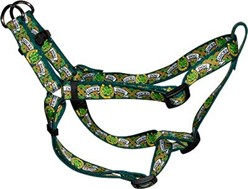 Lucky Dog Step-In Harness, an Irish Theme Dog Harness