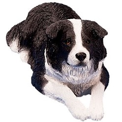 Border Collie Sandicast Original Figurine