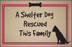 Shelter Dog Rescued This Family Mat