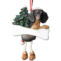 Dachshund Dangling Legs Dog Christmas Ornament