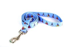 Sailboats and Lighthouses Leash