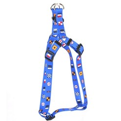 Nautical Dog Step-In Harness
