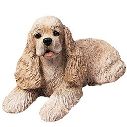Cocker Spaniel Sandicast Original Figurine