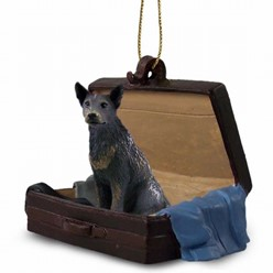 Australian Cattle Dog Traveling Companion Ornament