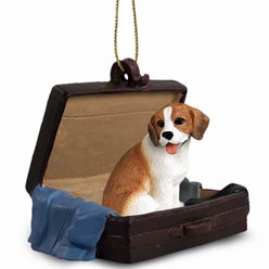Beagle Traveling Companion Ornament