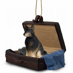 Belgian Tervuren Traveling Companion Ornament