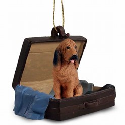 Bloodhound Traveling Companion Ornament