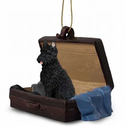 Bouvier Traveling Companion Ornament