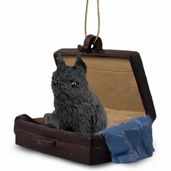 Brussels Griffon Traveling Companion Ornament