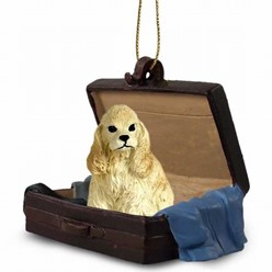 Cocker Spaniel Traveling Companion Ornament