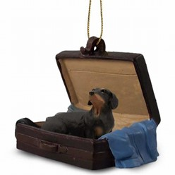 Dachshund Traveling Companion Ornament
