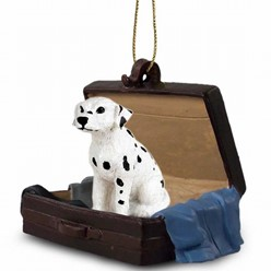 Dalmatian Traveling Companion Ornament
