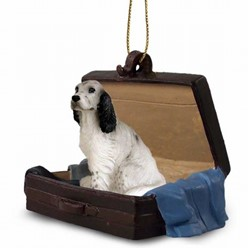 English Setter Traveling Companion Ornament