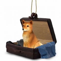 Finnish Spitz Traveling Companion Ornament