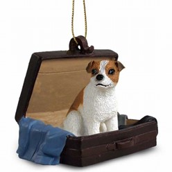 Jack Russell Traveling Companion Ornament