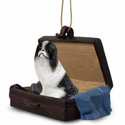 Japanese Chin Traveling Companion Ornament