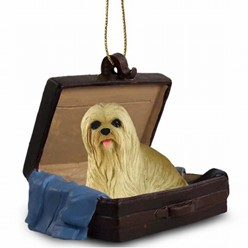 Lhasa Apso Traveling Companion Ornament