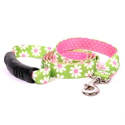 Uptown Green Daisy Leash