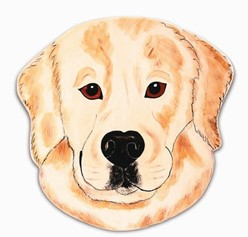 Golden Retriever Decorator Plate