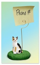 Japanese Bobtail Cat Memo Holder