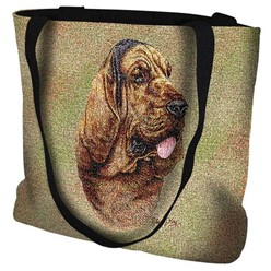 Bloodhound Tapestry Tote Bag