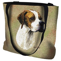 English Pointer Tapestry Tote Bag